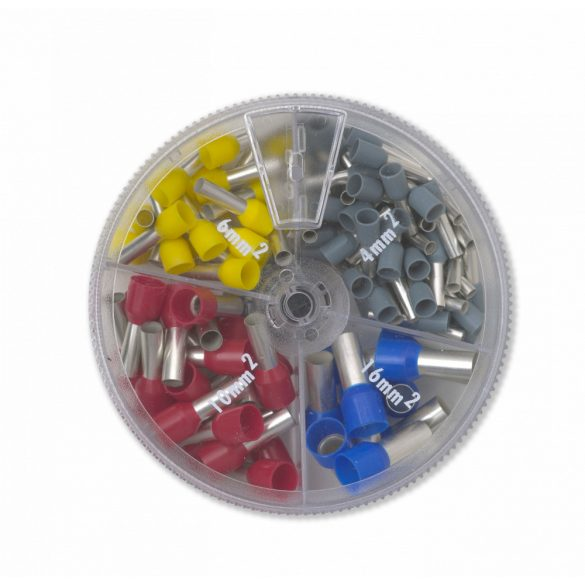 Érvéghüvely készlet 4-16 mm2
