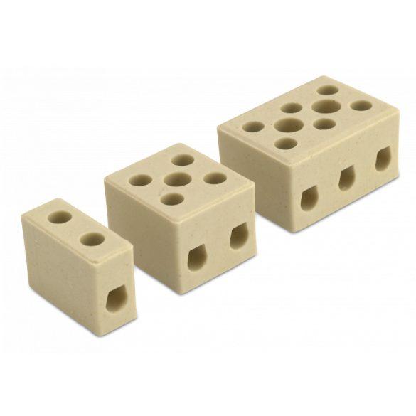 Sorkapocs 16 mm2, 1 P, szteatit