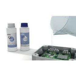 CRYSTAL GEL Kétkomponensű szilikon gél, 2 x 500 ml, víztiszta