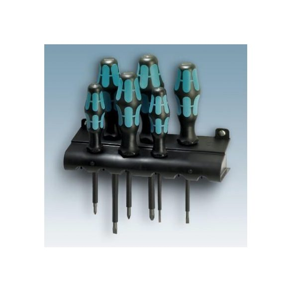 Csavarhúzókészlet 6 db csavarhúzóval, SL 0.4 x 2.5 mm, SL 0.6 x 3.5 mm, SL 0.8 x 4 mm, SL1 x 5.5, PH1, PH2