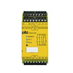 PNOZ X3P 24VDC 24VAC Biztonsági relé