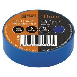 Szigetelőszalag 10 db/cs, 19 mm x 20 m, kék