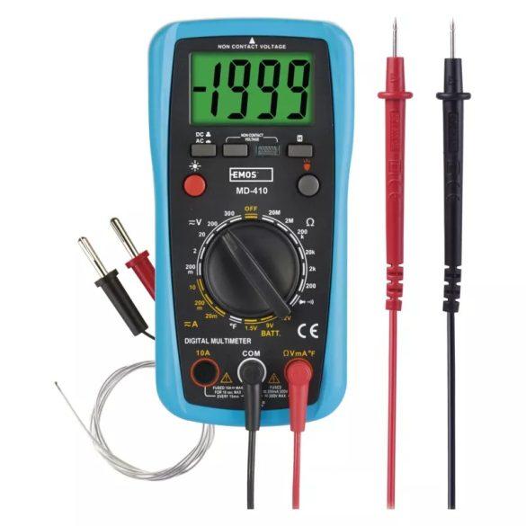 Lakatfogó multiméter MD410